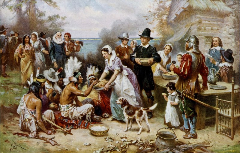 Thanksgiving, Mayflower, English Springer Spaniel, Mastiff, dogs, purebred dogs