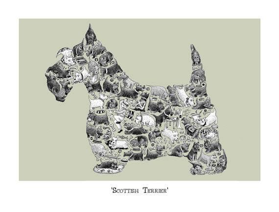 The Diehard, Scottie, Scottish Terrier