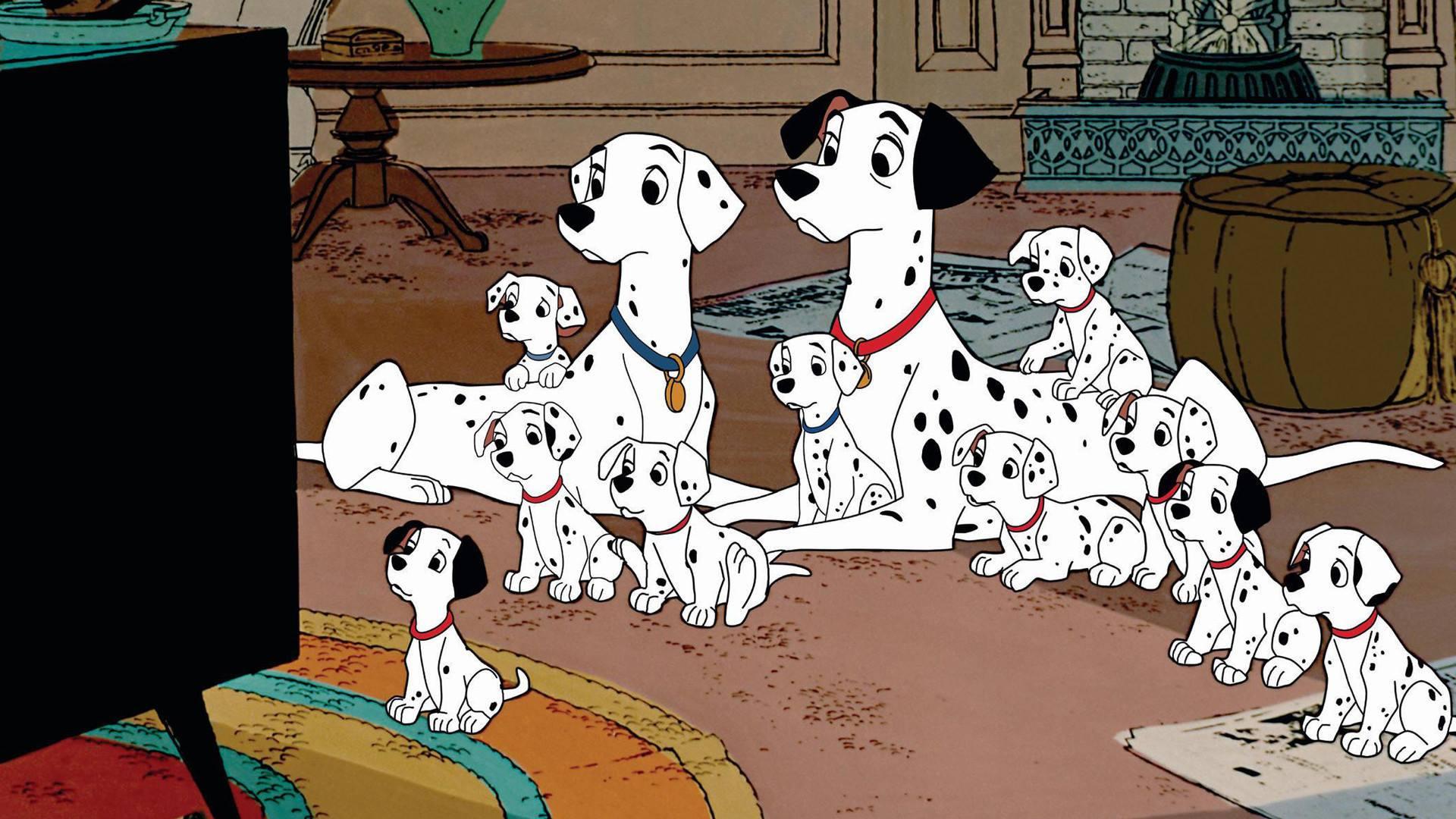 101 Dalmatians, dalmatian,dogs, purebred dogs, movies, Disney
