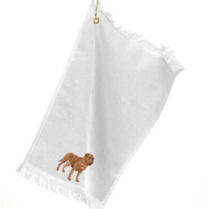 Dogue-deBordeaux-drool towel