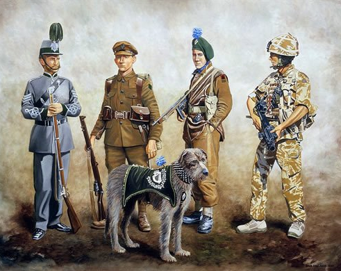 World War I, war dogs, military dogs, purebred dogs, dog,