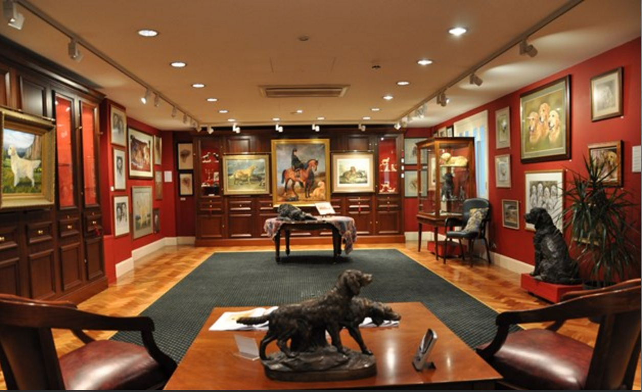 The Kennel Club, art, dogs, purebred dogs,