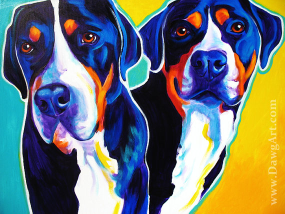 Bernese mountain dogs, greater swiss mountain dogs, entlebuchers, dogs, purebred dogs