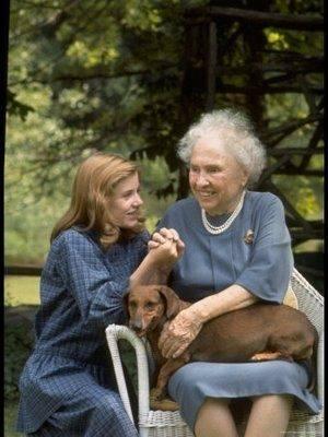 Patty Duke, Dachshund, Helen Keller, Dachshund, dogs, purebred dogs, guide dogs,