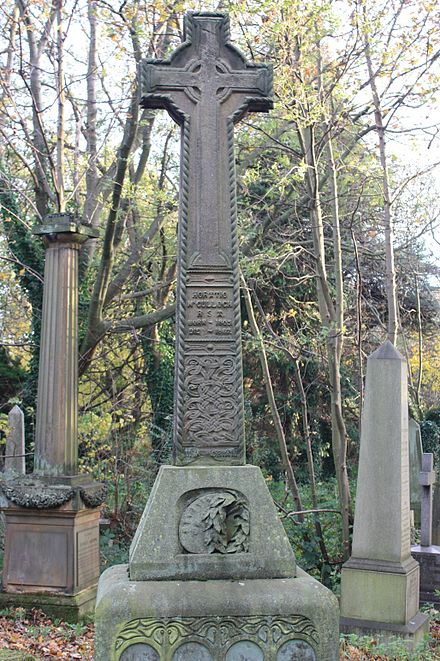 Horatio McCulloch,skye terrier, terrier, dogs, purebred dogs, grave,
