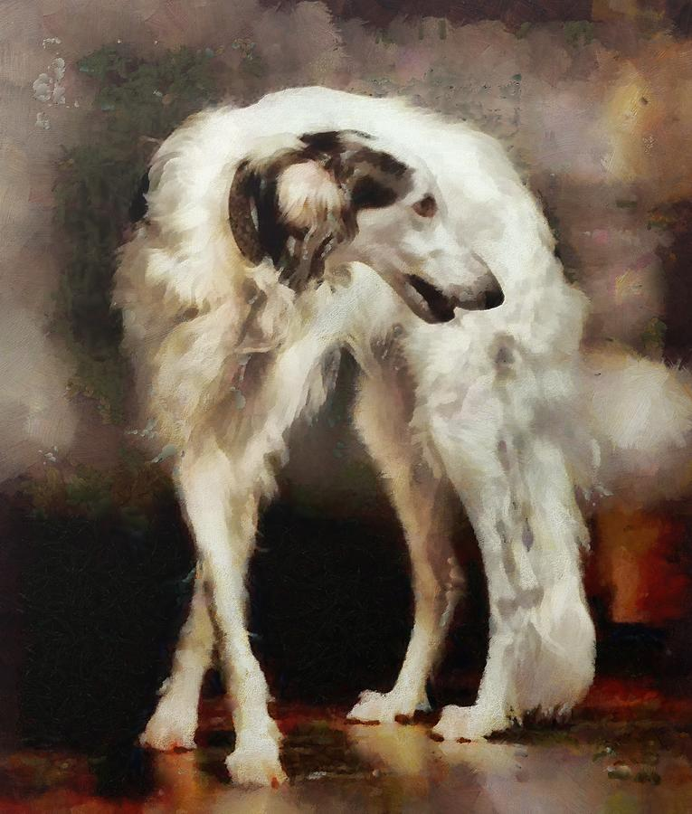 Borzoi,Queen Victoria,Czar of Russia,Russian Wolfhound,Wolfhound,Queen Alexandra,purebred dog