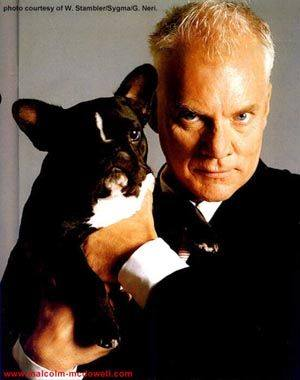 Malcolm McDowell,Labrador Retriever,French Bulldog,