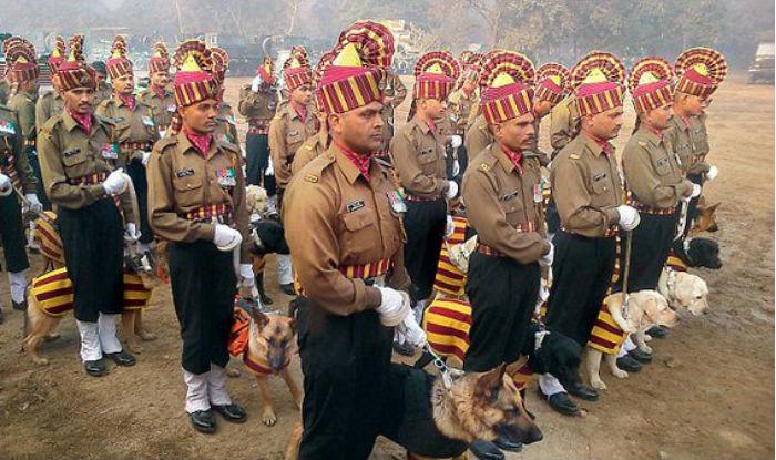Indian army dogs,India,Labrador Retrievers,German Shepherd dogs,parade