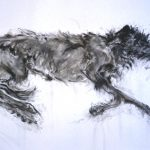 deerhound,wolfhound,hound,art