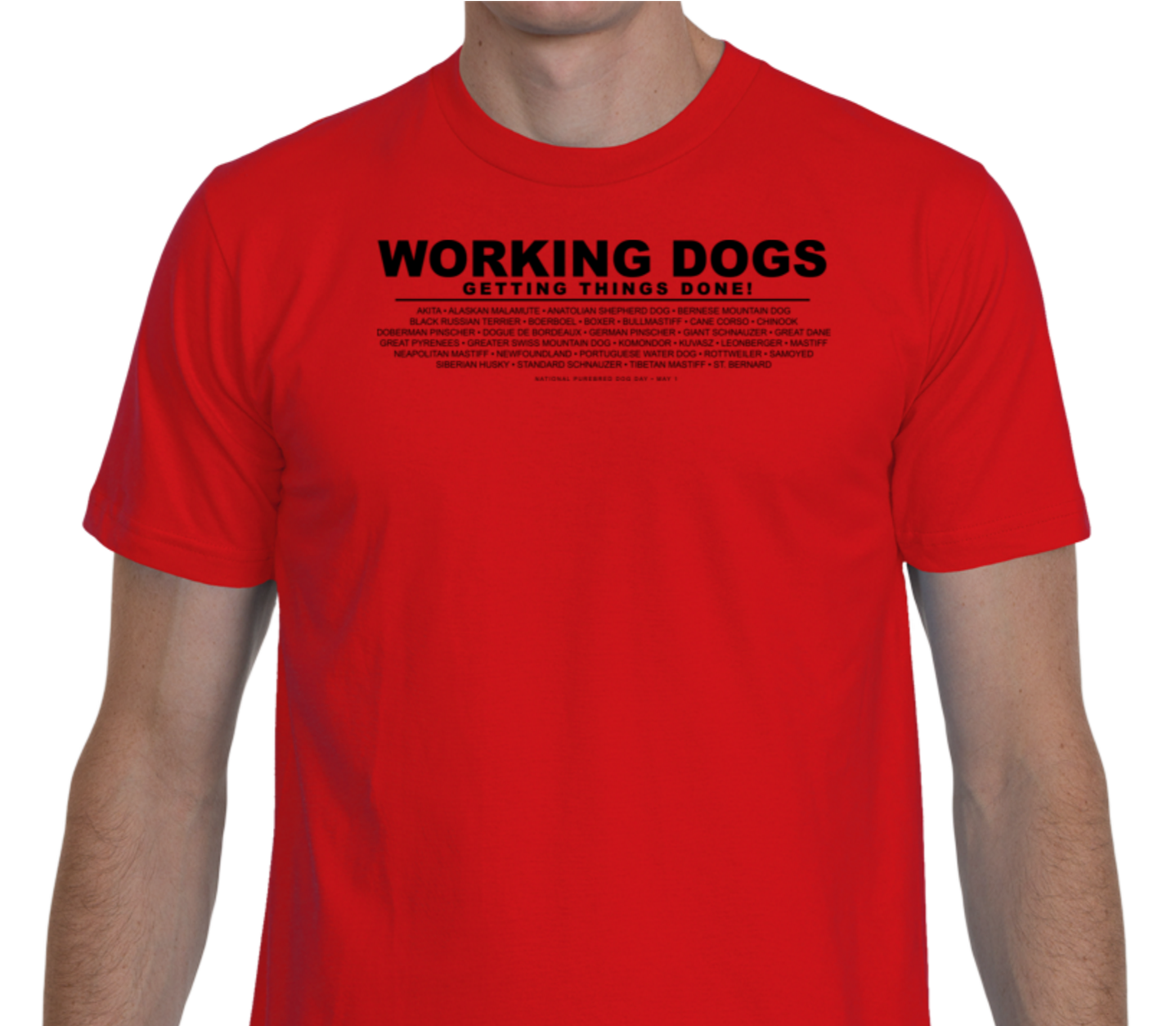 Working breed T-shirt