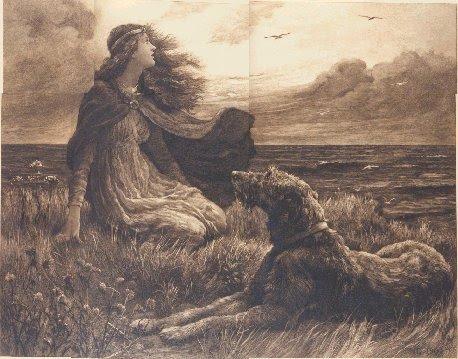 Dorothy Osborne, Irish Wolfhound,history