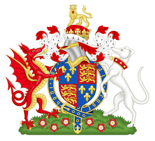 The Purebred Dog As Heraldic Symbol