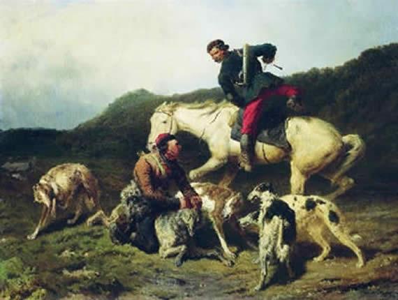 borzoi,sighthound,hound,hunting,coursing hound, Russia