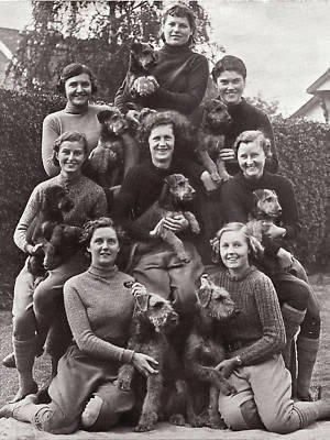 airedale, world war II,Edwin Hautenville Richardson, Women Auxiliary Territorial Services