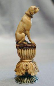 wax seal,dog,