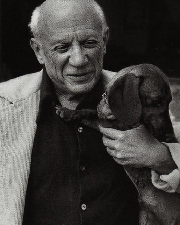 David Duncan,Art,Dachshund,Lump,Picasso