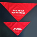 """Ask About My Heritage"" Bandana"