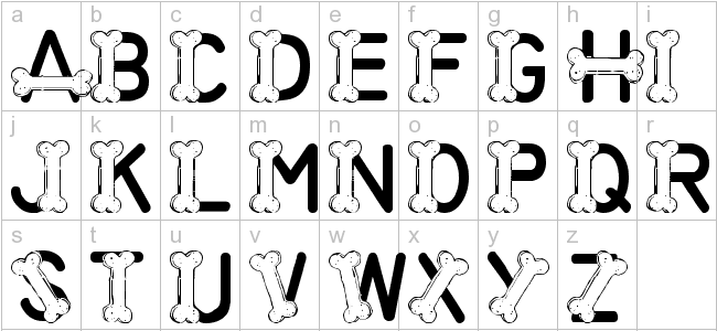 font,dogs