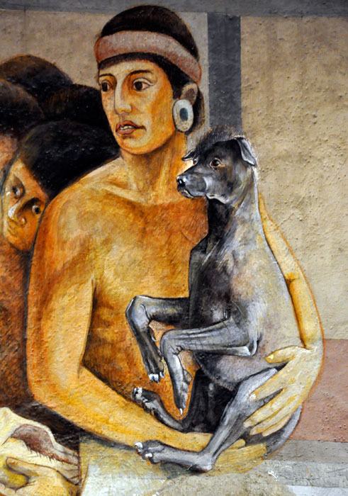xolo,Xoloitzcuintli,Diego Rivera, Frida Kahlo.