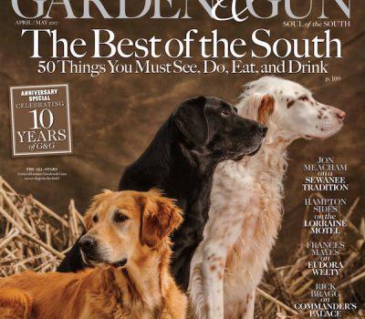 Garden and Gun,magazine,Golden Retriever,English Setter,English Cocker Spaniel