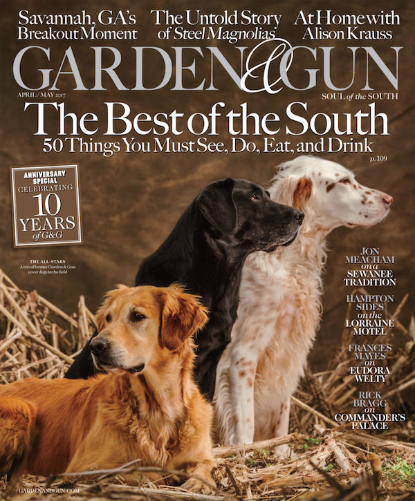 Garden and Gun and Purebred Dogs