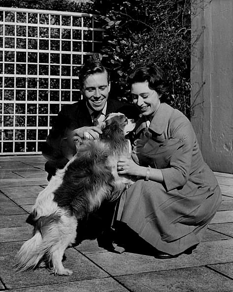 Princess Margaret, Corgi, Queen Elizabeth, Cavalier King Charles Spaniel, Queen Mother, Blenheim King Charles Spaniel,