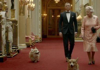 Queen Elizabeth,corgi,James Bond,commercial,olympics,Daniel Craig