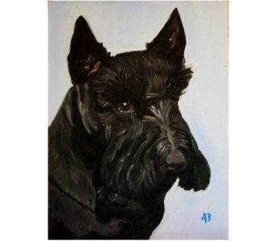 Scottish Terrier,Barney,George W. Bush,painting,art,Jimmy Carter,Ulysses S. Grant,US President