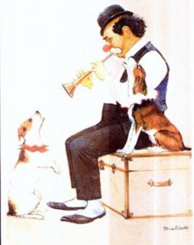 CircusBenneweis, Danish Swedish Farmdog,circus