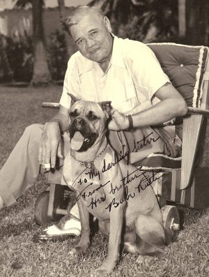 Bull Terrier,St. Bernard,Babe Ruth,Jacob Ruppert,Cloudland Dot,Jack Graney,