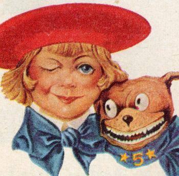American Pit Bull Terrier,Buster Brown,mascot
