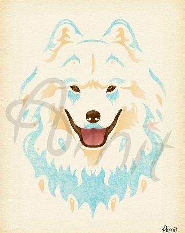 Samoyed,hair,coat,Sammy Smile, smile,breed standard