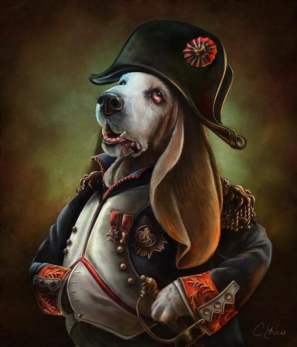 Napoleon Bonaparte,Jerome Napoleon Bonaparte,Newfoundland,Pug,Fortune, Elba,