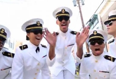 Annapolis, Navy, Beagle, Video,NaptownFunk