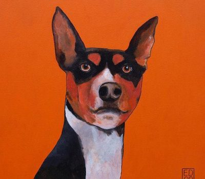 Basenji, nickname,barkless dog