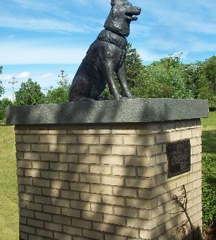 German Shepherd Dog,sculpture,police dog police dog,Anoka Police Federation