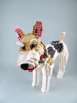 Fox Terrier, lego