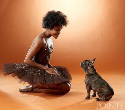 French Bulldog,Frida Kahlo,Ingrid Silva,ballet,Pointe Magazine