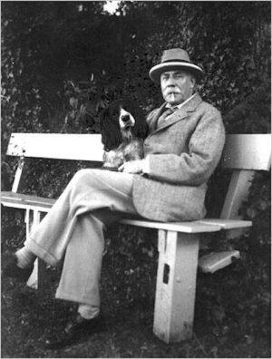 Sir Edward Elgar,composter,music,musician, Bulldog,Cairn Terrier