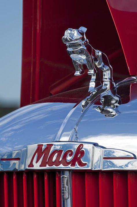 Bulldog,Mack Truck,mascot,Alfred Fellows Masury