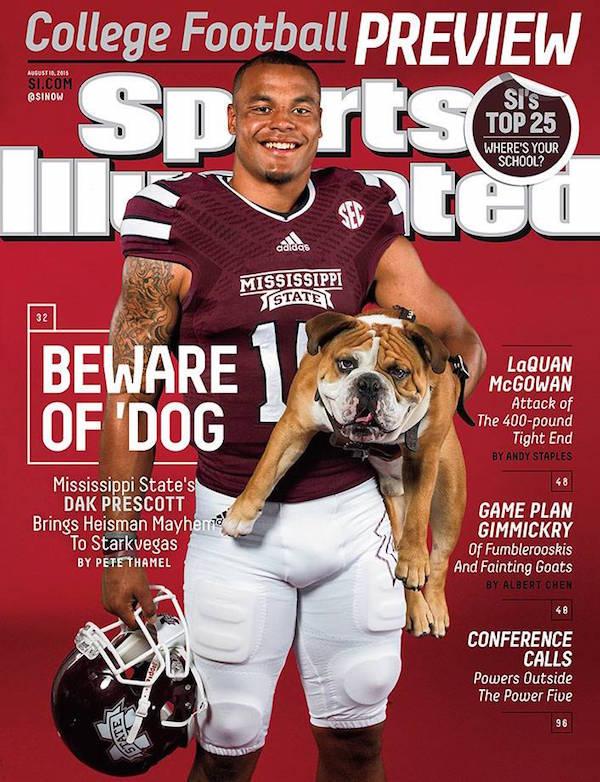 Bulldog,Sports Illustrated, Dak Prescott,