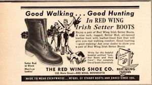 Irish Setter,boots,Red Wing Shoe Company,