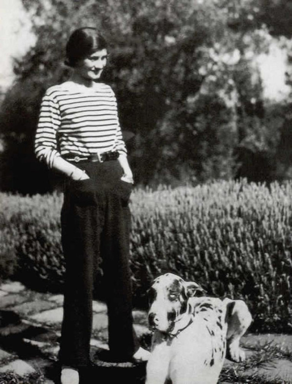 Great Dane,Coco Chanel,Fashion,