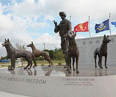 Belgian Malinois,MWD,war dog,military dog,U.S. Military Working Dog Teams National Monument,National K-9 Veterans Day,Doberman Pinscher, German Shepherd Dog, Labrador Retriever,John Burnam