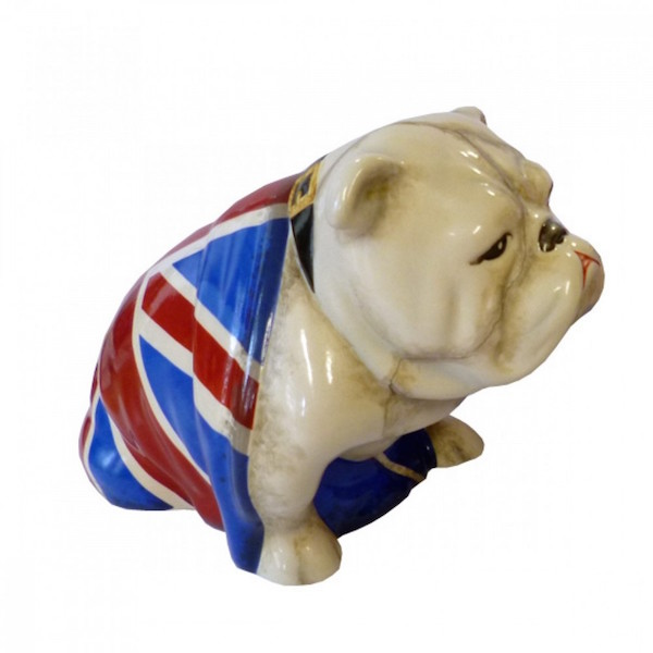 Bulldog,Jack the Bulldog, 007, James Bond, Skyfall,Movies,Film,Judi Dench,Royal Doulton