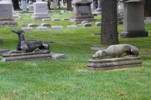 Greyhound,Rosehill Cemetery,taphophile,grave