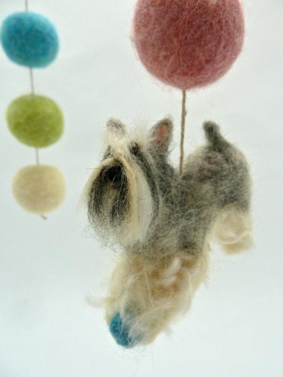 wool felt,art,sheepcreekstudio,mobiles,gift