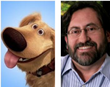 cartoon,Dug,Pixar,Golden Retriever, Bob Peterson