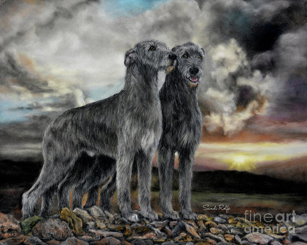 Brehon Law,Gaelic Feinechus,Irish Wolfhound,