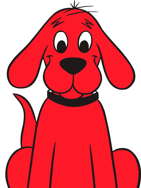 book.Bloodhound,Norman Bridwell,Clifford,literature,Big Red Dog